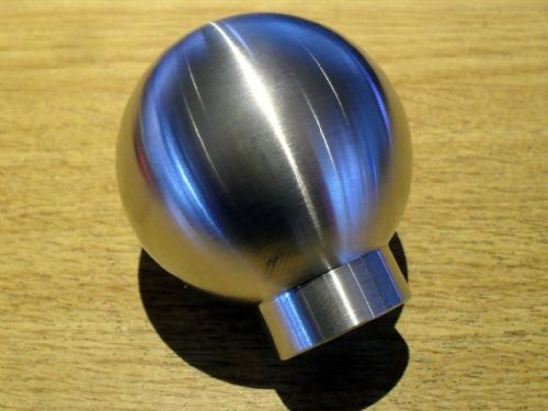 Gearknob, Mazda MX-5, ball type, brushed aluminium finish